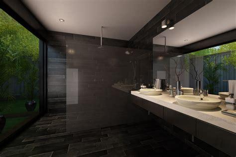 black slate bathrooms black slate narrow mansion bathroom autodesk 3ds max 3d cad model grabcad