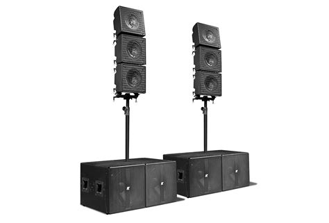 Owl Theme by Krx802 True Line Array With Six Mid High 12 Coaxial