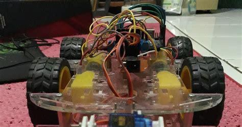 Motor Dc Gearbox Plus Roda Bisa Di Pakai Di Robot Soccer Atau Arduino mobil rc dan capit servo menggunakan koneksi bluetooth hc