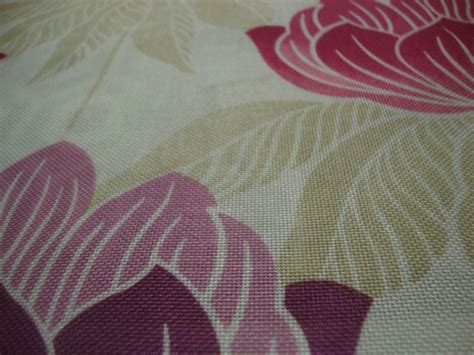 Roma Upholstery Fabric by Roma Purple Floral Curtain Fabric