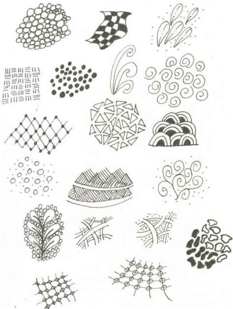 easy zentangle patterns printable print out and tangle zendoodle zentangle templates