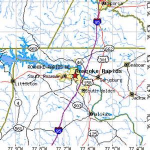 roanoke carolina map roanoke rapids carolina nc population data