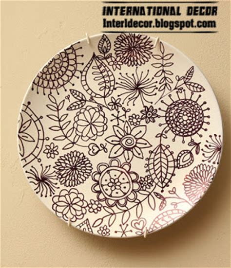wall plate decor make plate to decorating your wall wall plate
