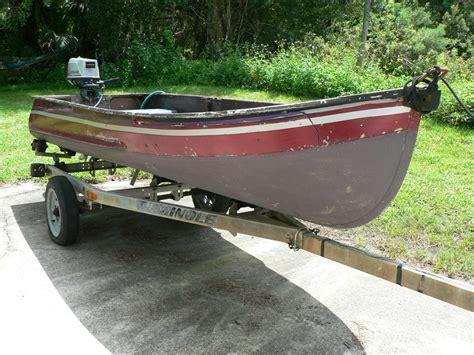 jon boat aluminum jon boat 11 5 feet w nissan outboard motor plus