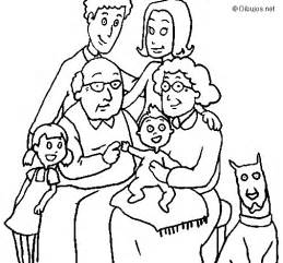 family color family coloring page coloringcrew
