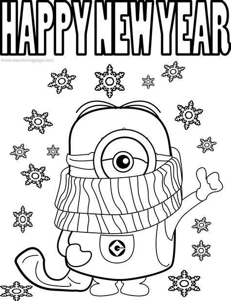 new year color sheets happy new year coloring pages printable merry