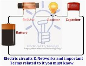 electric circuits networks and important terms related to it you must electrical technology