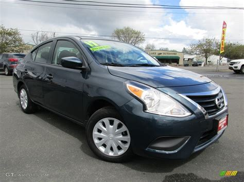 nissan versa dark blue 2017 graphite blue nissan versa s 119847365 photo 15