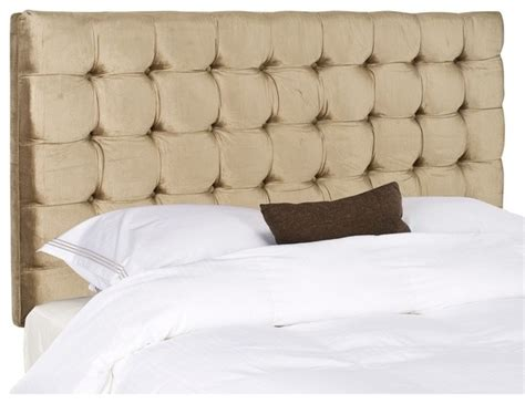 gold headboards beds safavieh lamar chagne gold headboard contemporary