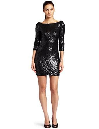 Get The Look Jessicas Sequin Mini Dress by Womens Cowl Neck Mini Dress With Sequin