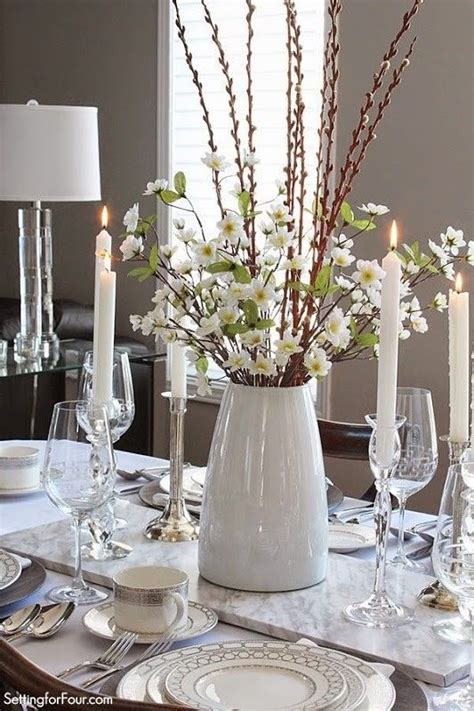 Dining Room Centerpieces For Tables 17 Best Ideas About Kitchen Table Centerpieces On Pinterest Kitchen Table Decorations Dining