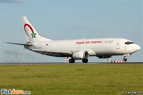 boeing 737 3m8 sf cn rox royal air maroc ram cargo par yan david pictaero