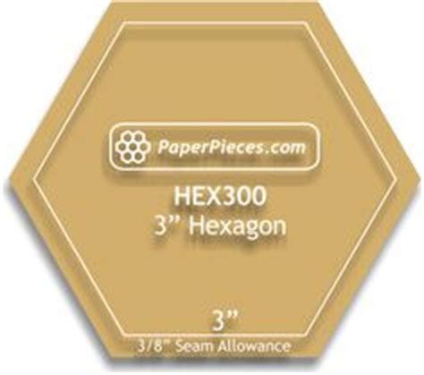 3 inch hexagon template template and templates on