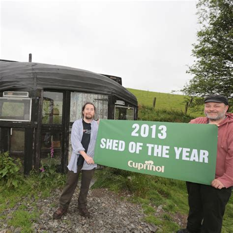 Shed Of The Year 2013 by Upturned Boat Wins Shed Of The Year Ideal Home