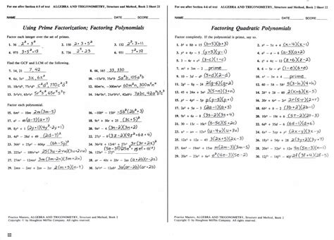 mcdougal littell algebra 2 mixed review answers