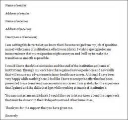 Paragraph Certification Notice Letter letter for staff nurse letter resignation rn resignation letter