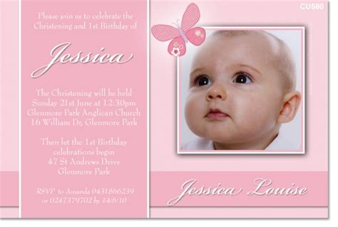 design layout of baptismal invitation cu580 girl butterfly christening girls christening