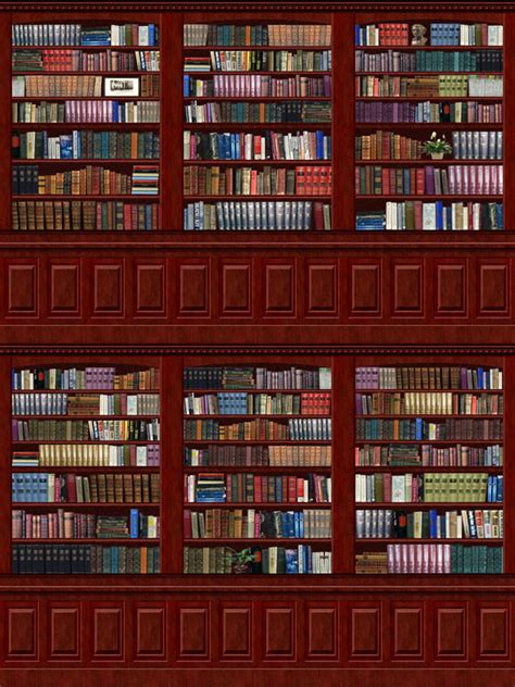 Library Wall Mural mod the sims library wall mural wallpaper collection