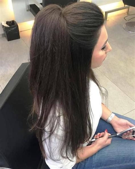 half up half down hairstyles for long straight hair half up half down hairstyles for straight hair fazhion