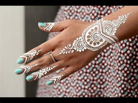 white henna tattoo tutorial 12 best images on garter belt