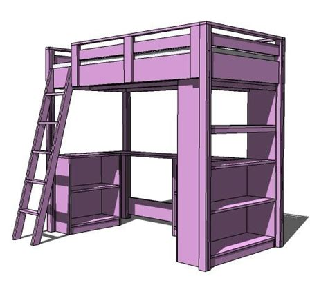 white build a what goes the loft bed how