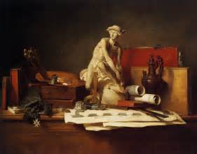 The Kitchen Jean Baptiste Simeon Chardin The Attributes Of 1766 Jean Baptiste Simeon Chardin
