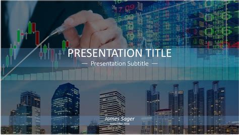 stock powerpoint templates free stock market powerpoint template 6448 sagefox