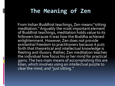 the meaning of the meaning of zen by artie wu