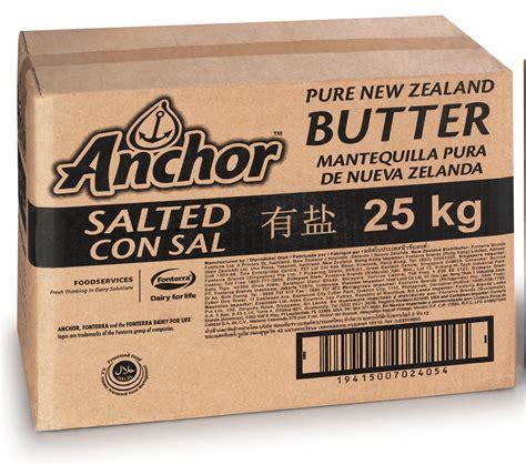 Butter Anchor Unsalted 25kg Murah new zealand butter salted box 25 kg onezoo au
