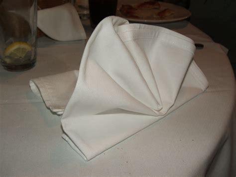 Napkin Origami - file folded napkin 01 jpg wikimedia commons