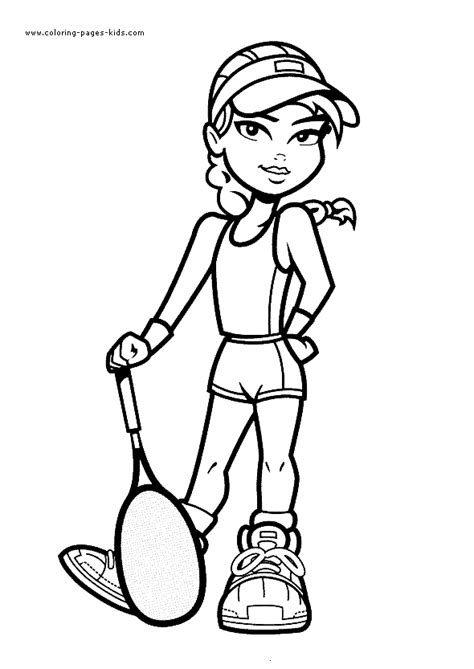 sports coloring pages pdf tennis coloring pages for kids