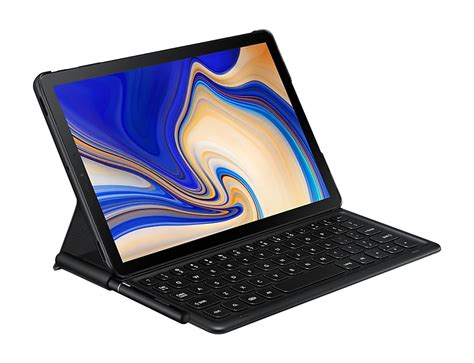 keyboard book cover for galaxy tab s4 ej ft830bbeggb samsung uk