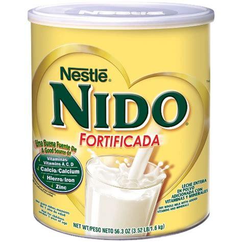 nudo nutritional information nestle nido fortificada 3 52lbs target