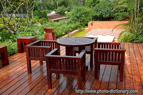 Meaning Of Patio by House Patio Photo Picture Definition At Photo Dictionary