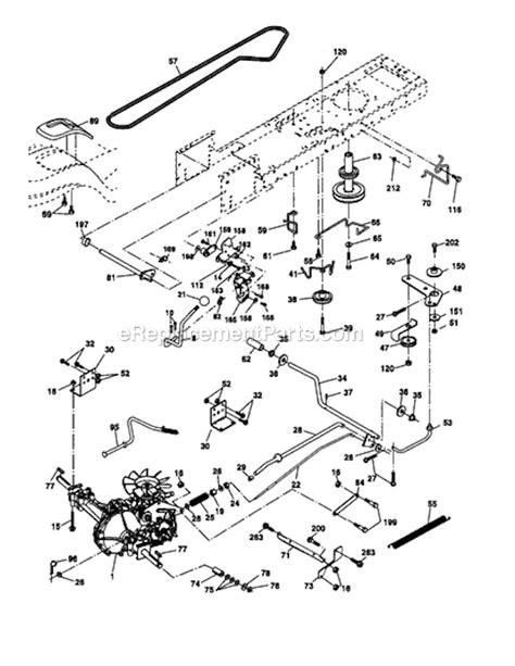 craftsman lt 1000 deck parts diagram imageresizertool