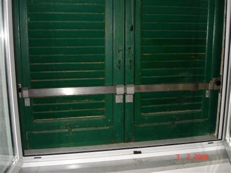 sicurezze per persiane protezioni per serramenti officine bacigalupi srl