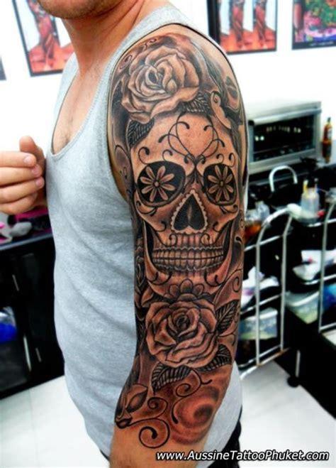 los muertos tattoo dia de los muertos sleeve search husband