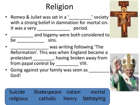 theme of religion in romeo and juliet social historical context of romeo and juliet
