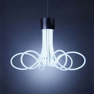 cool pendant lighting industrial and minimalist neon chandeliers digsdigs
