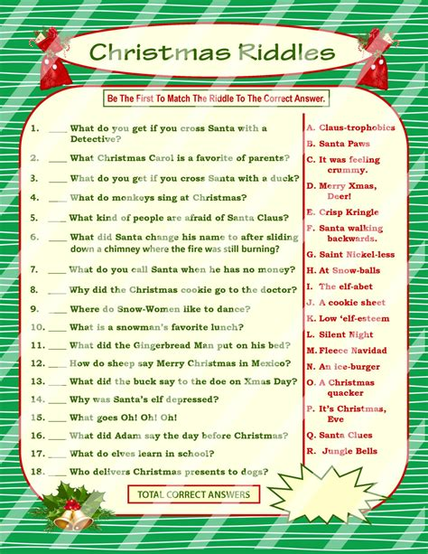 printable christmas riddles for adults christmas riddle game diy holiday party game printable