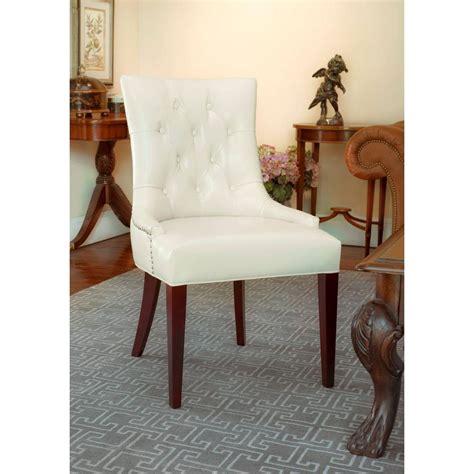 amanda faux leather accent chair safavieh amanda flat bicast leather accent chair