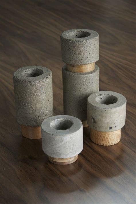 Dewi Set items similar to dewi konkrete votive kerze halter set on