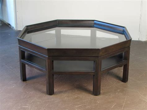 baker coffee table octagonal coffee table by baker furniture at 1stdibs