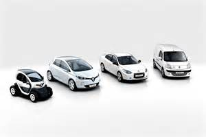 Renault Electric Car History Renault Zoe My Czero Nissan Leaf Electric Car S