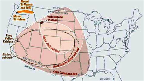 map of volcanoes in the united states yellowstone supervolcano to erupt in 2 weeks jasper and
