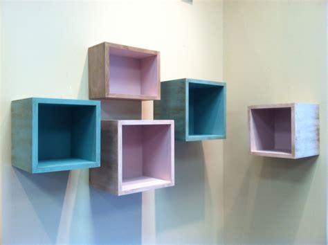 Handmade Floating Box Shelves by J. Richard's   CustomMade.com