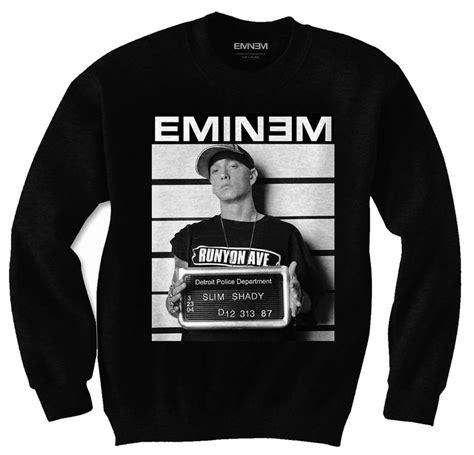 Sweater Eminem Recovery 2 official sweatshirt hoody eminem arrest photo sweater all