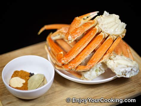 boiled snow crab legs with old bay seasoning recipe my homemade food recipes tips