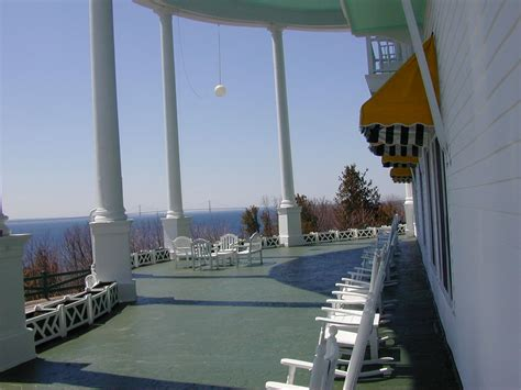 Hotel Porch front porch of grand hotel mackinac island