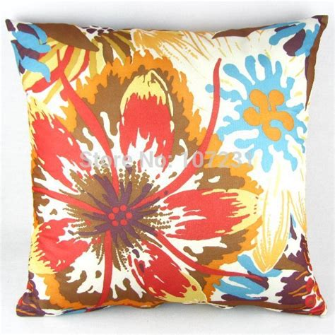 Coloured Pillow Cases by Vintage Multi Colored Floral Throw Pillow Decor